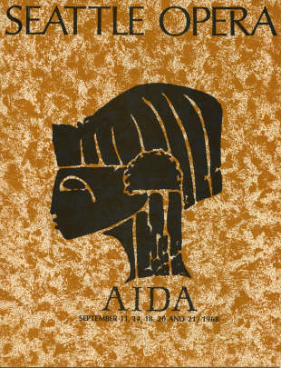 1968/69 Aida Program Cover