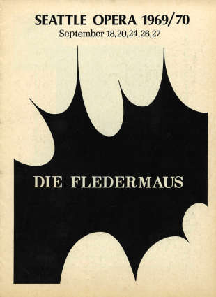 1969/70 Die Fledermaus Cover