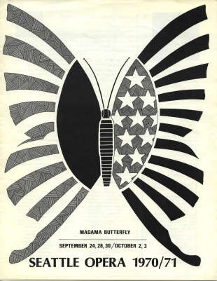 1970/71 Madama Butterfly Cover