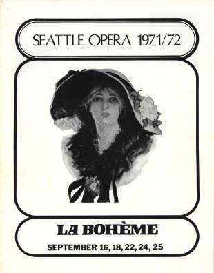 1971/72 La boheme Cover