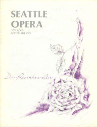 1975/76 Der Rosenkavalier Cover