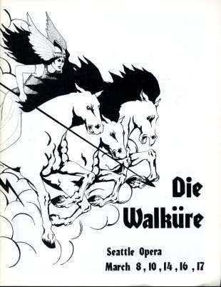 1972/73 Die Walkure Cover