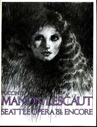 1980-81 Manon Lescaut Cover