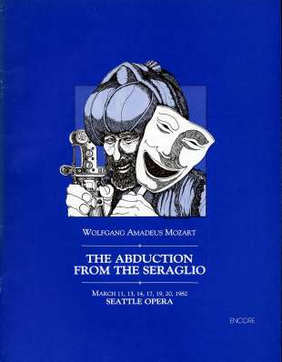 1981-82 Abduction from Seraglio Cover