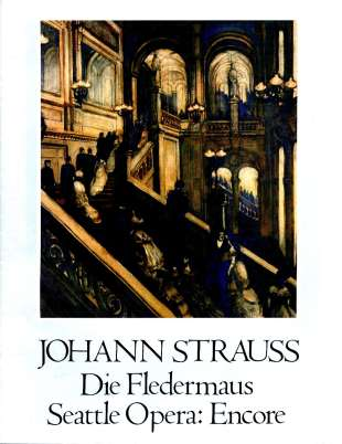 1981-82 Die Fledermaus Cover