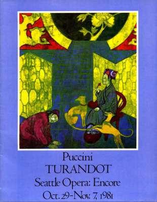 1981-82 Turandot Cover