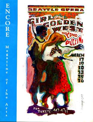 1982-83 Girl of the Golden West Cover