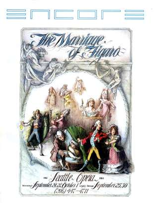 1983-84 Marriage of Figaro Cover