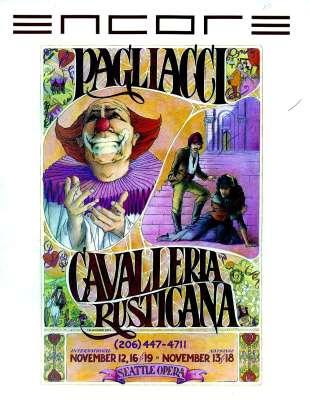 1983-84 Pagliacci Cavalleria Cover