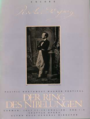 1983 The Ring of the Nibelung Cover