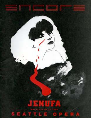 1984-85 Jenufa Cover