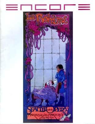1984-85 La Boheme Cover