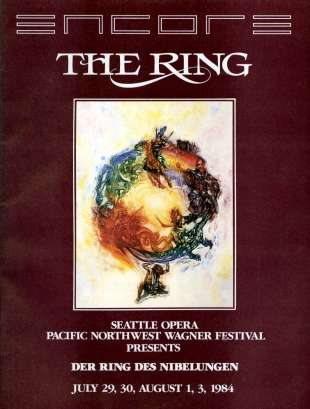 1984 The Ring of the Nibelung Cover