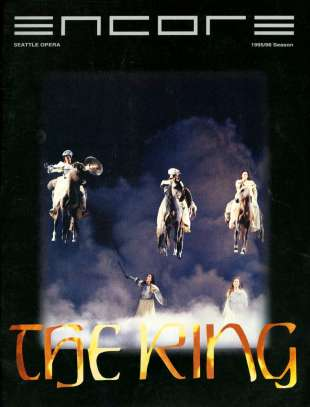 1995-96 The Ring Cover