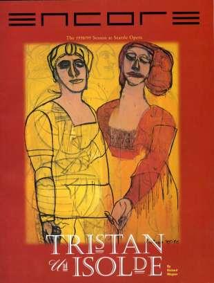 1998-99 Tristan und Isolde Cover