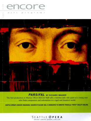 2003-04 Parsifal Cover