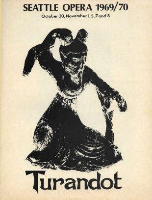 1969/70 Turandot Cover