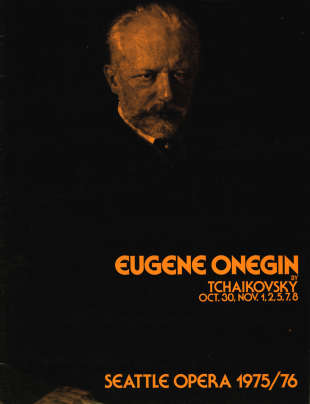 1975/76 Eugene Onegin Cover