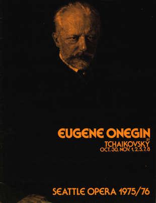 1975/76 Eugene Onegin Cover