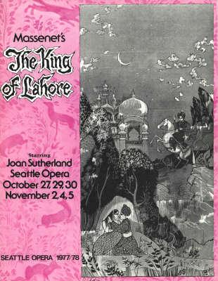 1977/78 Le roi de Lahore Cover