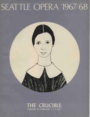 1967/68 The Crucible Program Cover