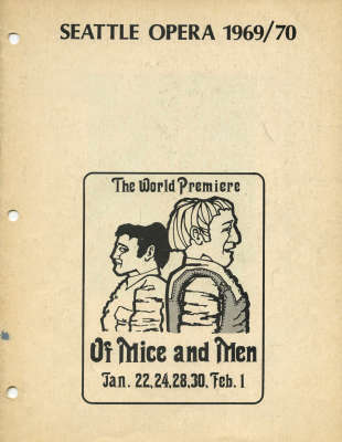 1969/1970 Of Mice and Men Cover