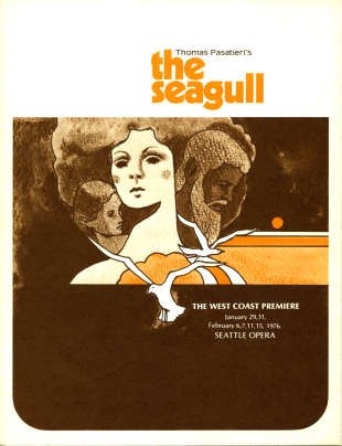 1975/76 The Seagull Cover