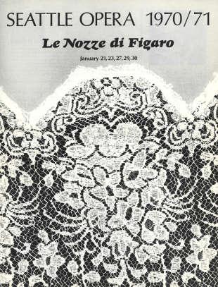 1970/71 Nozze di Figaro Cover