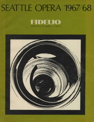 1967/68 Fidelio Program Cover