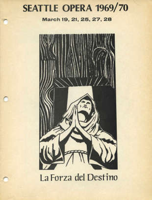 1969/70 La forza del destino Cover