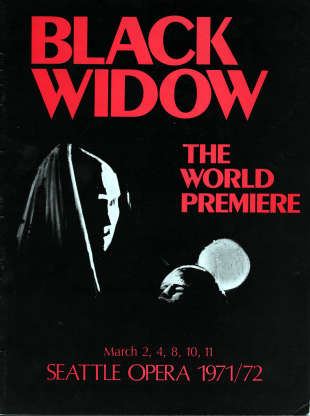 1971/72 Black Widow Cover
