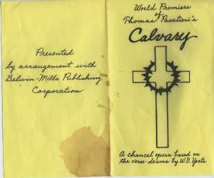 71 Calvary program 1