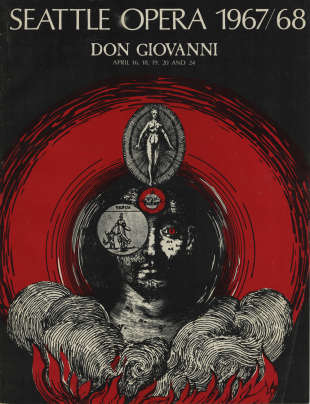 1967/68 Don Giovanni Program Cover