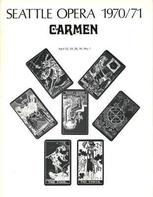1970/71 Carmen Cover