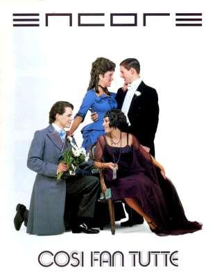 1985-86 Cosi fan tutte Cover