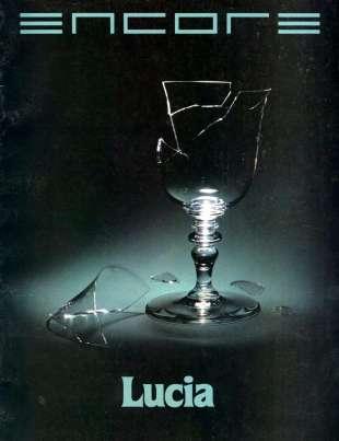 1985-86 Lucia di Lammermoor Cover