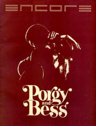 1986-87 Porgy and Bess Cover