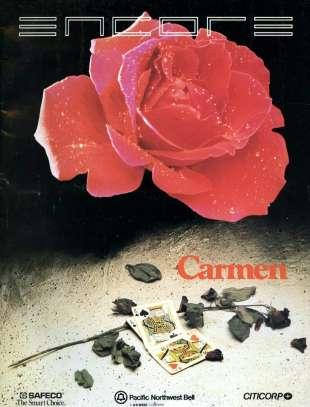 1987-88 Carmen Cover
