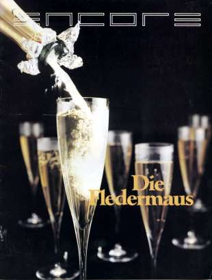 1987-88 Die Fledermaus Cover