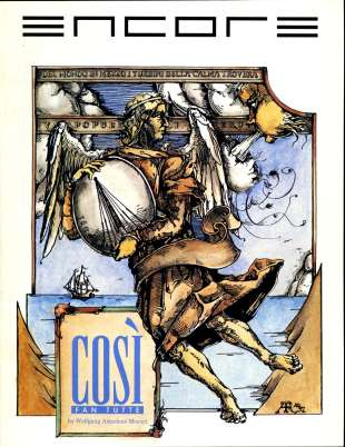 1991-92 Cosi Fan Tutte Cover