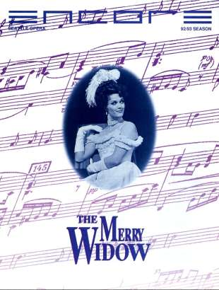 1992-93 Merry Widow Cover