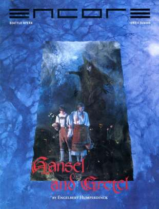 1993-94 Hansel and Gretel Cover