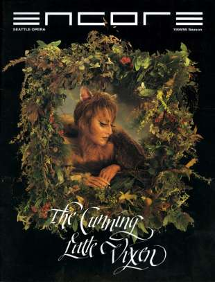 1994-95 Cunning Little Vixen Cover