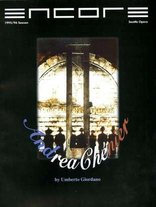 1995-96 Andrea Chenier Cover