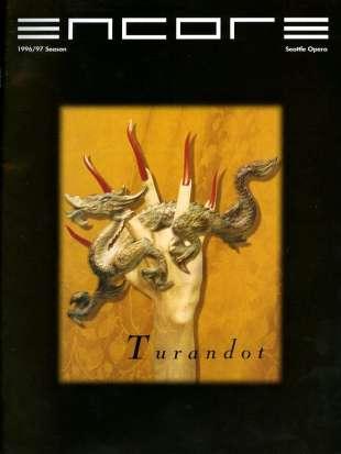 1996-97 Turandot Cover