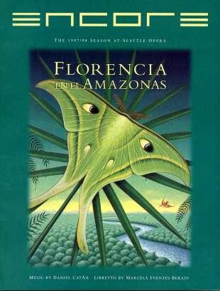 1997-98 Florencia en el Amazonas cover