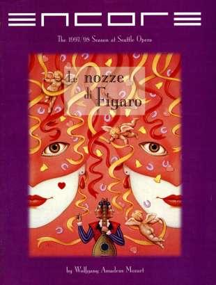 1997-98 Le nozze di Figaro Cover