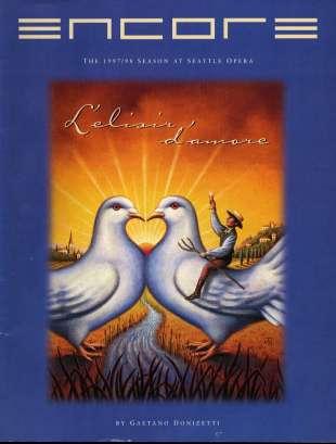1997-98 L'elisir d'amore Cover
