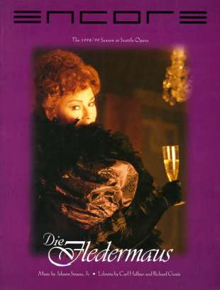 1998-99 Die Fledermaus Cover