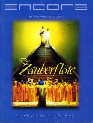 1999-00 Die Zauberflote Cover